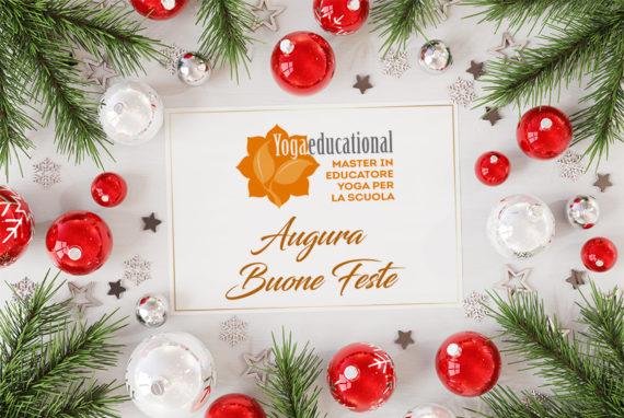 Yogaeducational augura Buon Natale e Felice Anno Nuovo